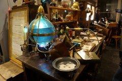 Un cabinet des curiosités